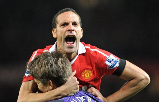 Poor Rio might never get the chance to play with Van Der Sar again!
