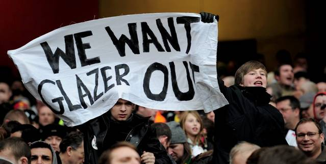 We want Glazer out