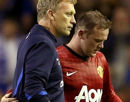 Moyes speaking double Dutch? Rooney will remain a United player