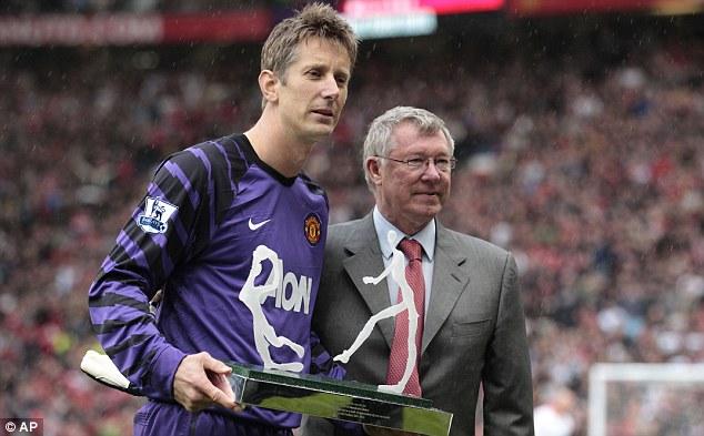 Van Der Sar and Sir Alex Ferguson