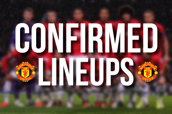 Confirmed Line-Up: United team vs West Brom - Januzaj starts