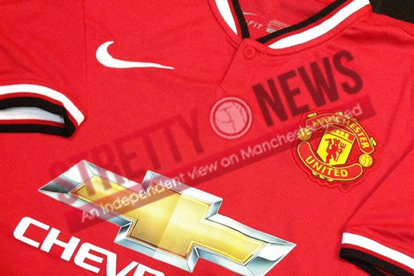 superior quality 6c910 6e518 PICTURES: Home & Away Manchester United shirts 2014/15 ...