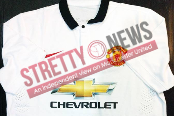 Manchester United away 2014/15