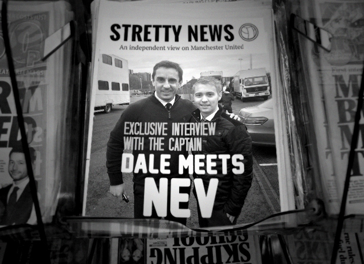 Exclusive: Gary Neville speaks to Stretty News