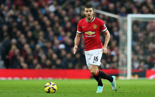 Carrick set the pace of passing from the deep and covered space behind allowing others to press