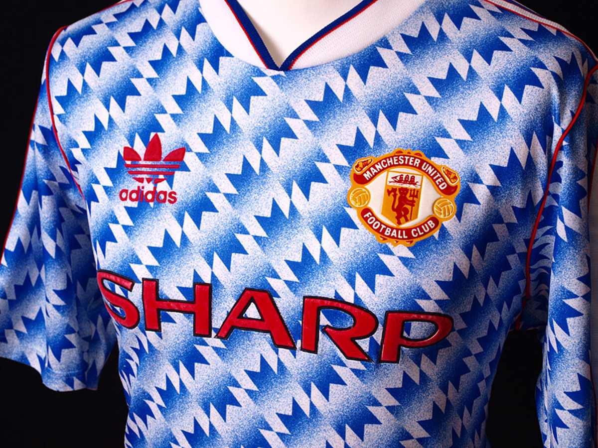 4df9cb7018c Cult classic Manchester United 1990-92 mug