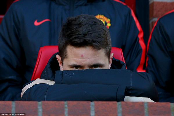 ander herrera wants to play, fans want him to play, Louis van Gaal not so much.