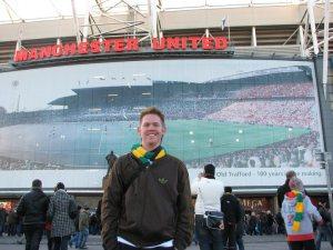 Nate Kunz, Manchester United fan