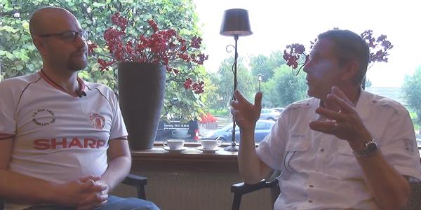 Arnold Muhren on Louis van Gaal: He's a great guy!