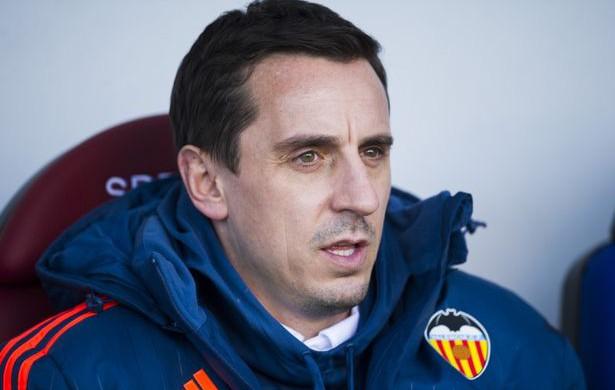 Gary Neville, Valencia coach