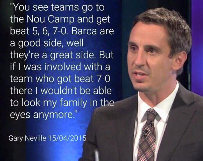Gary Neville caught in false quote storm.