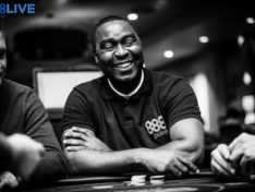 Andy Cole partakes in Poker Series