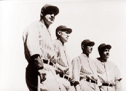 Even squads had great nicknames in baseball's heyday, like the Yankees' Murderers Row.