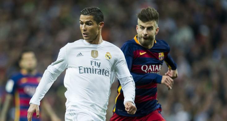 Ronaldo vs Pique