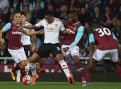 Anthony Martial vs West Ham