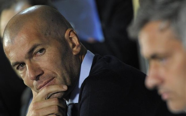 Zinedine Zidane rather than Pep Guardiola, is Mourinho's most important rival with the transfer window still open.