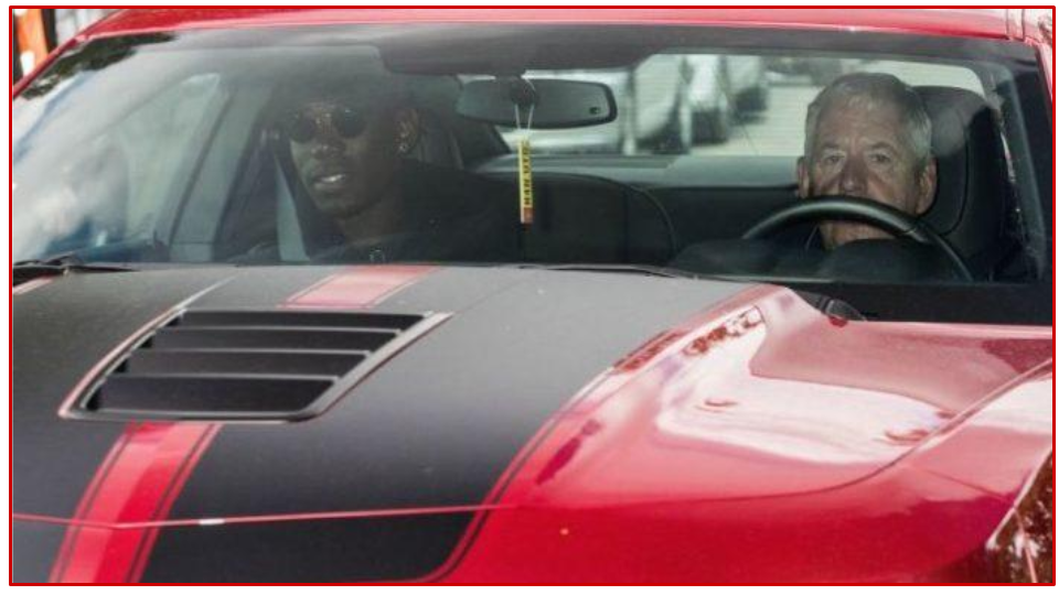 For what it's worth, Mario Balotelli would be doing the driving himself