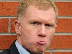 What's Paul Scholes on about?