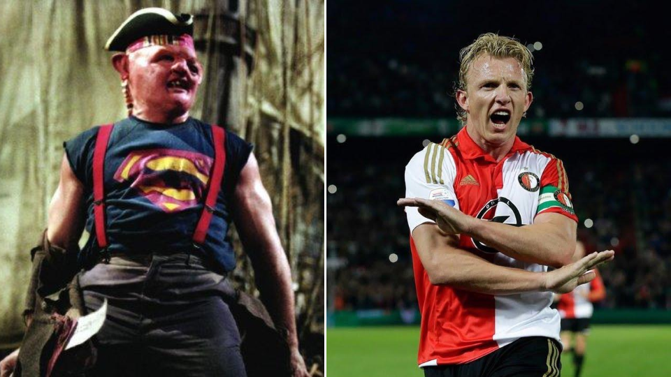 Dirk Kuyt was largely in the background as his mates hung around then toppled Mourinho's United.