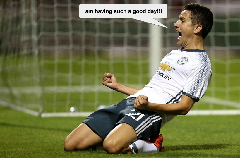 Herrera will be leaving Northampton a happy camper after a goal and an assist