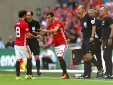 Mourinho is testing both Shaw and Mkhitaryan