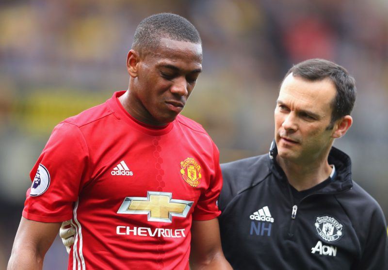 Anthony Martial is the only United player with a bigger headache than José Mourinho after losing to Watford.
