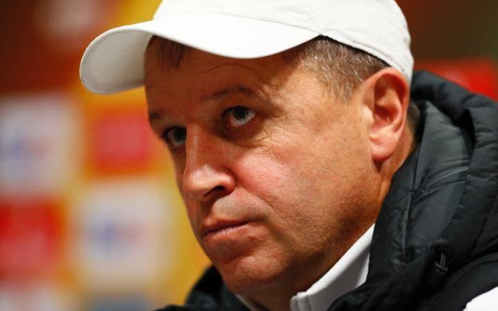 Yuriy Vernydub intends to have Zorya prepared for Manchester United