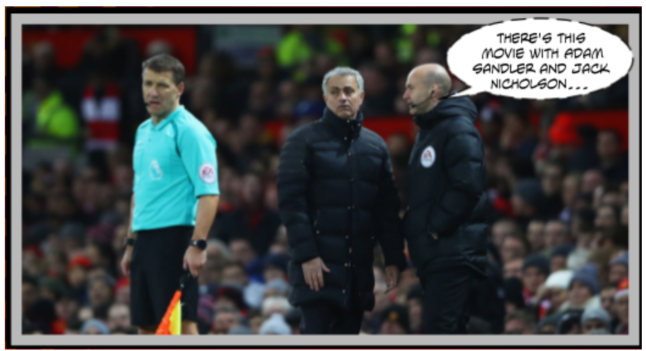 Jose Mourinho is about to have another allergic reaction to the officiating in Man United's draw v West Ham