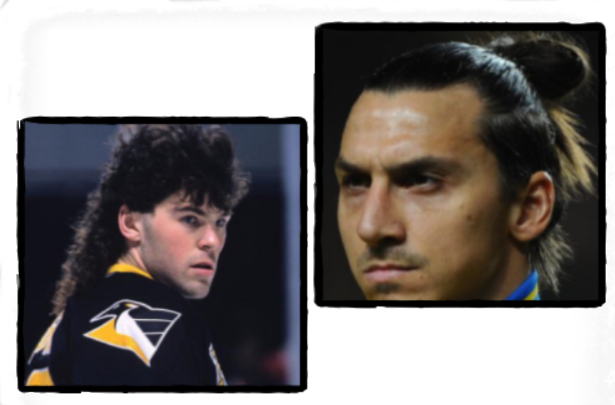 Before Ibra made the top knot sport's most recognizable hairstyle, there was Jagr and The Mullet