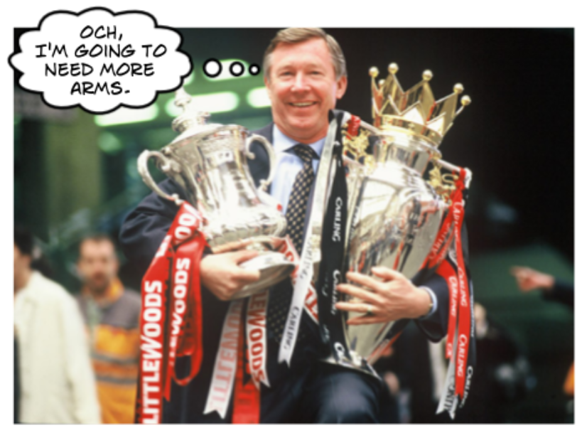 Fergie can tell you attitude is critical to winning titles