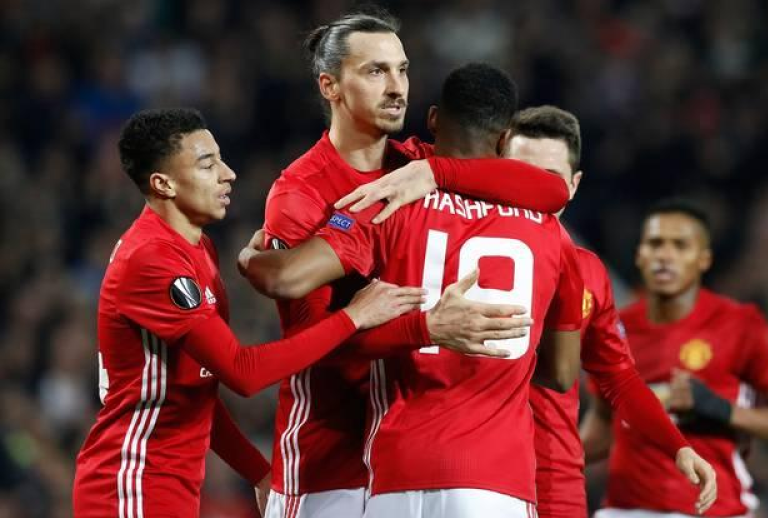 Ibra knows Marcus Rashford did the heavy lifting for his second hat trick goal v St Etienne