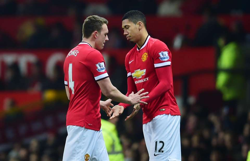 Smalling and Jones: Two more sufferers of the English disease.