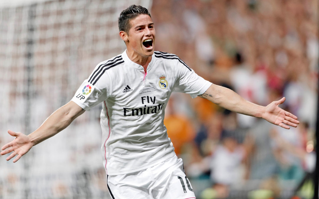 Report: United favourites to sign James Rodríguez from Real Madrid