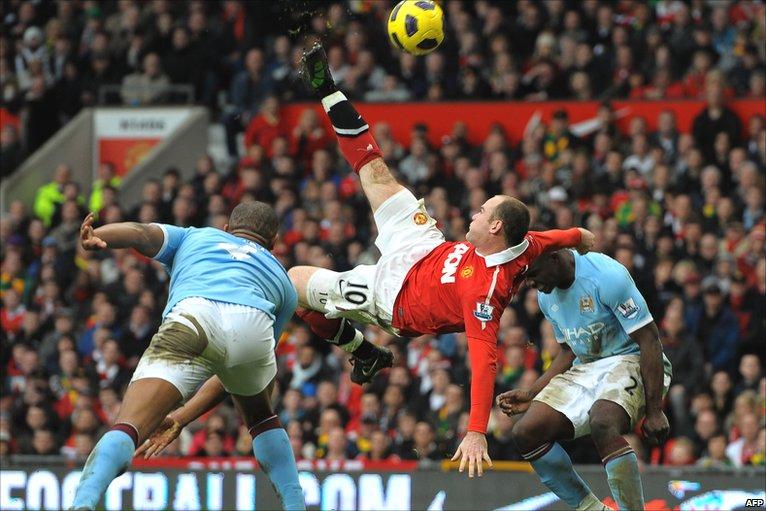 Wayne Rooney's top 5 Manchester United goals