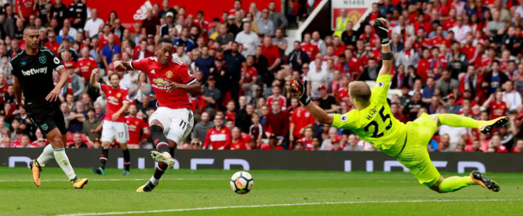 In putting four past West Ham in its season opener, Manchester United did something it hadn't in 2016-17. Mourinho's squad kept its foot on the gas.