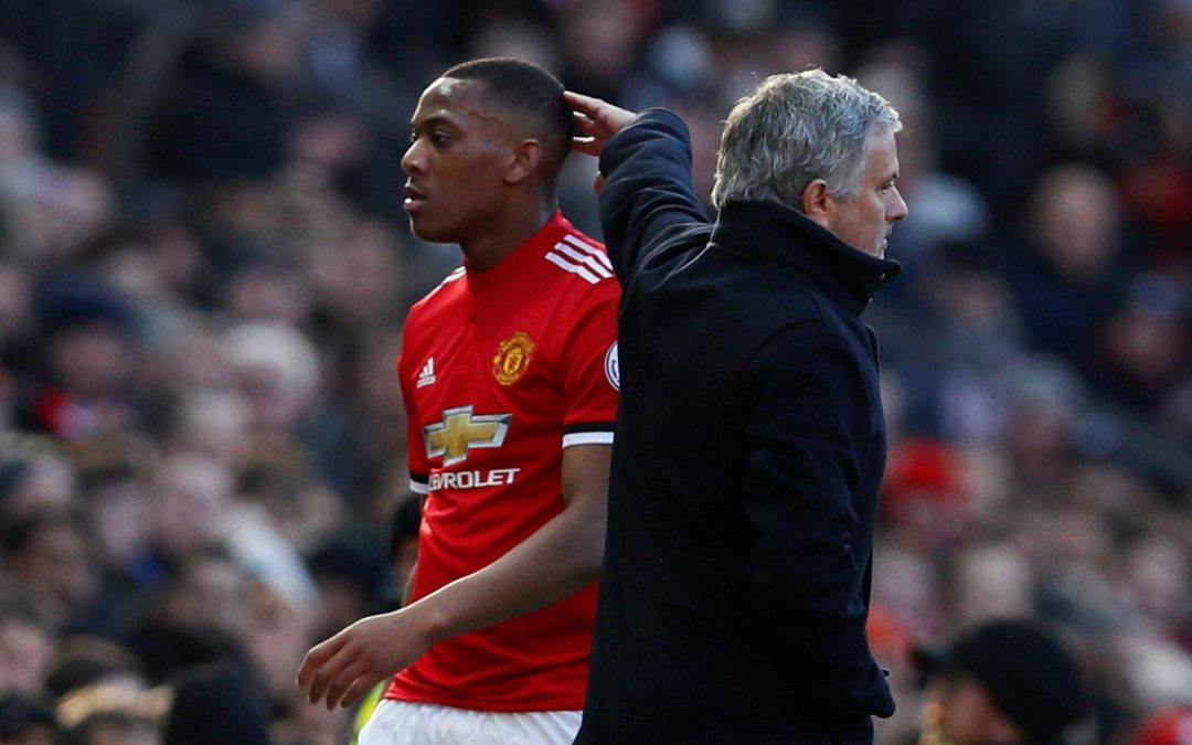 BREAKING: Anthony Martial leaves Old Trafford prior to line-up announcement