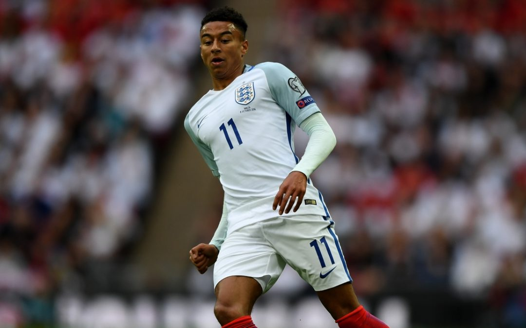 "Lingard ""more confortable"" playing for England than United"