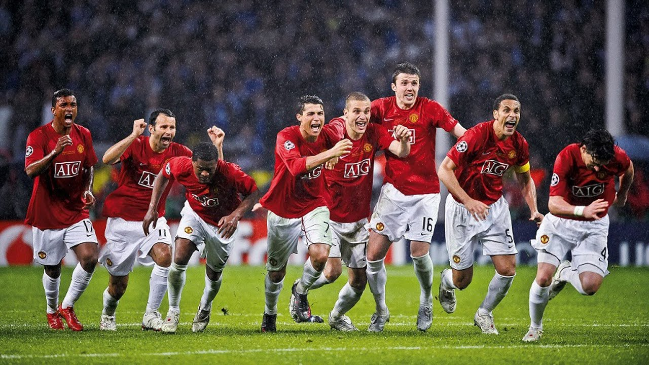 Image result for champions league final 2008