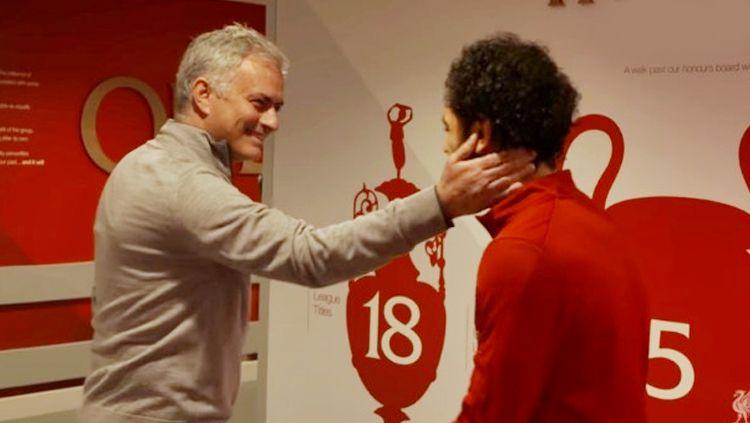 Mo Salah has some kind words to say about Jose Mourinho