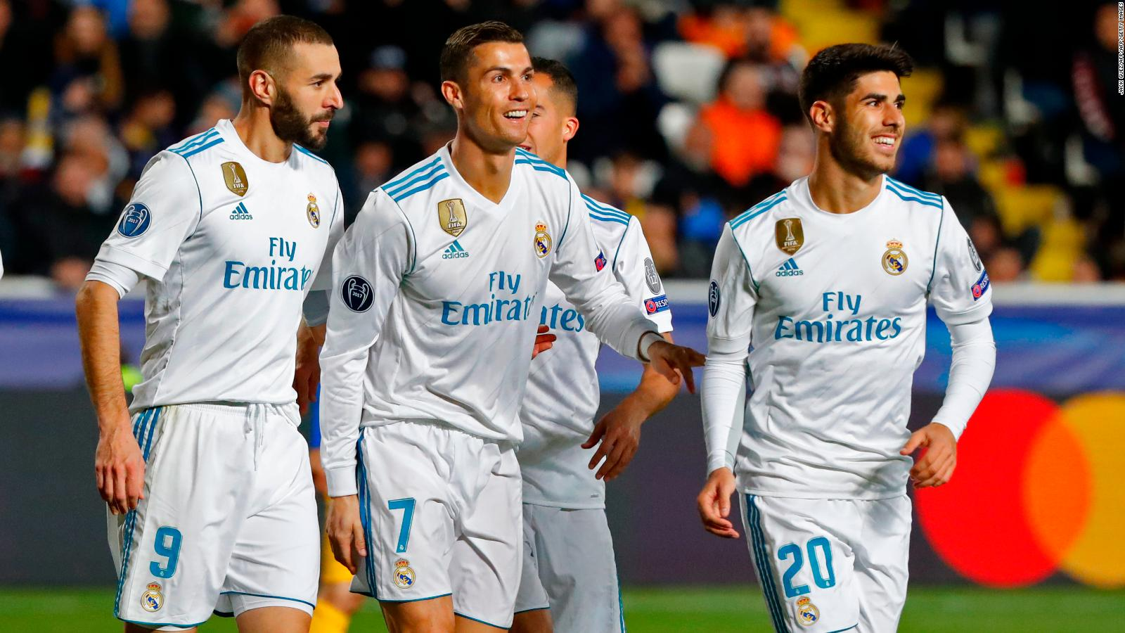 I would have preferred it to be manchester united but liverpool cristiano ronaldo is preparing to lead real madrid stopboris Images