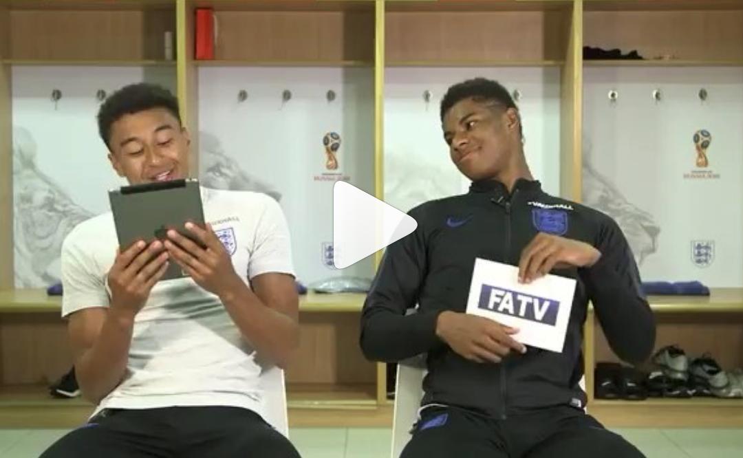 (Watch) Rashford reveals what he spoke to Neymar about in the tunnel