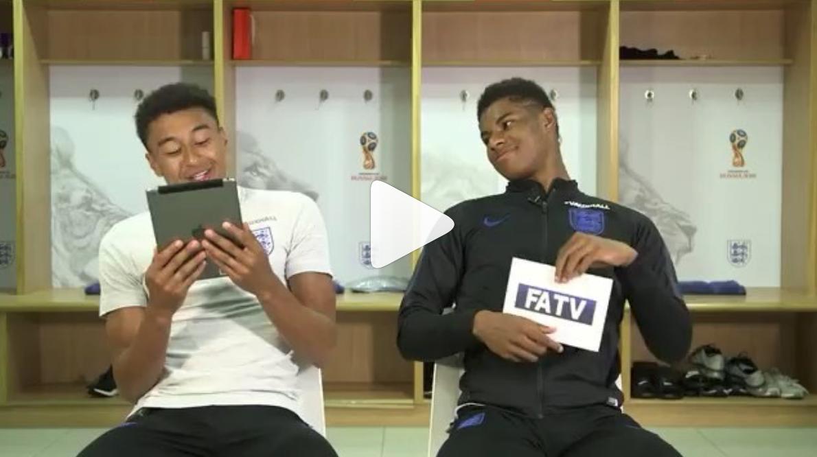 Watch Rashford Reveals What He Spoke To Neymar About In The Tunnel