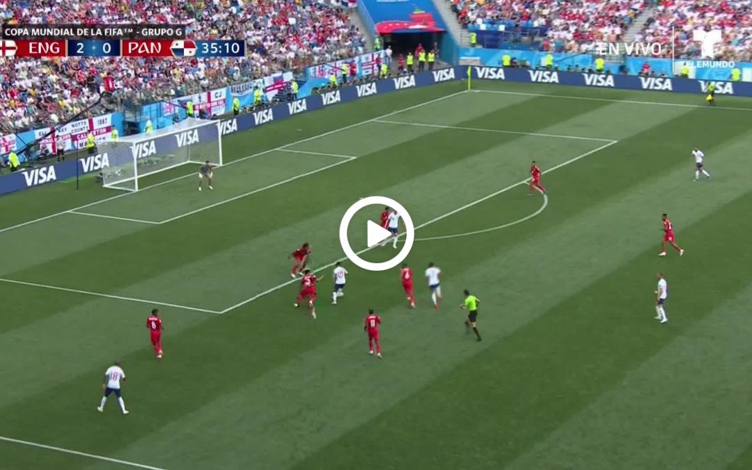 (Watch) Lingard scores cracking goal against Panama