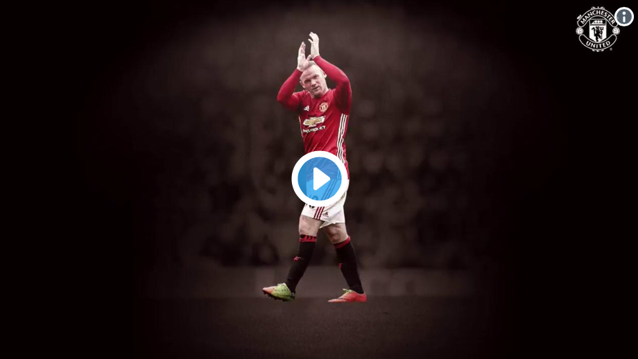 (Watch) Man Utd congratulate Wayne Rooney on MLS switch