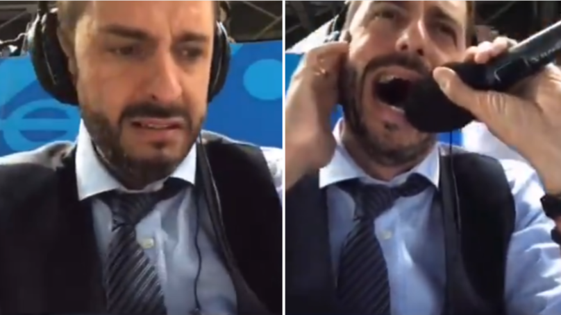(Watch) Argentine commentator's reaction to Rojo's late winner goes viral