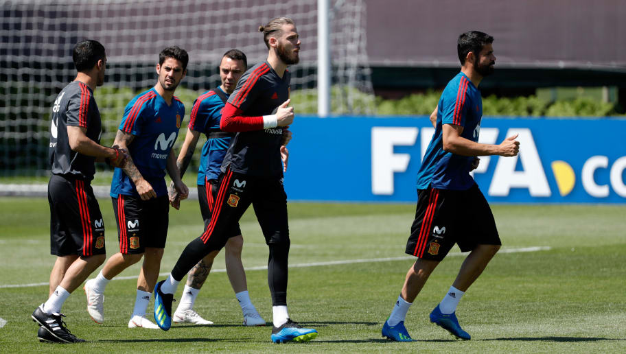 Fernando Hierro confirms De Gea will start against Russia in Round of 16 clash