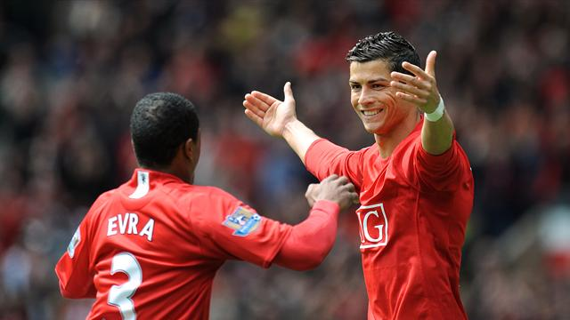 Evra reveals funny story about Ronaldo's winning mentality from time at Man Utd