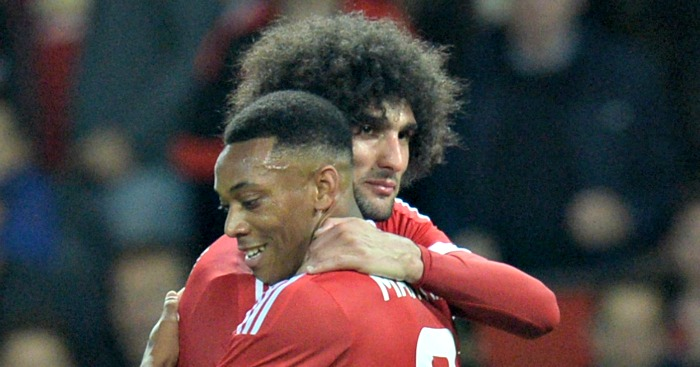 PICTURE: Anthony Martial looks happy back at Man Utd