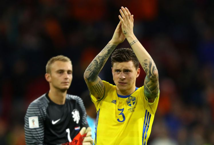The reason Victor Lindelof is missing for Sweden's World Cup opener