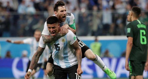 Marcos Rojo reveals what Messi said in inspirational half-time talk